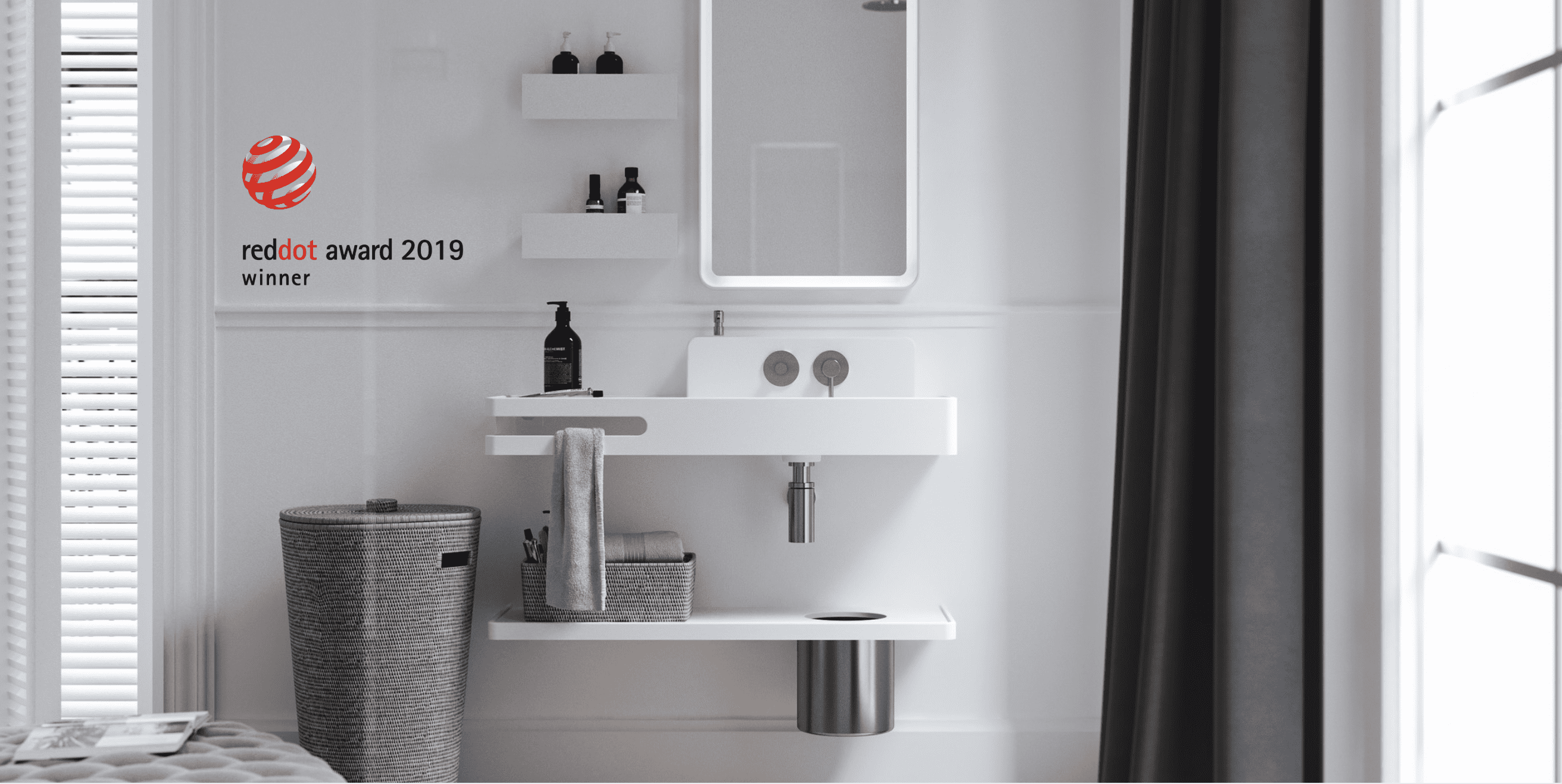 Amelie collection wins Red Dot Award 2019