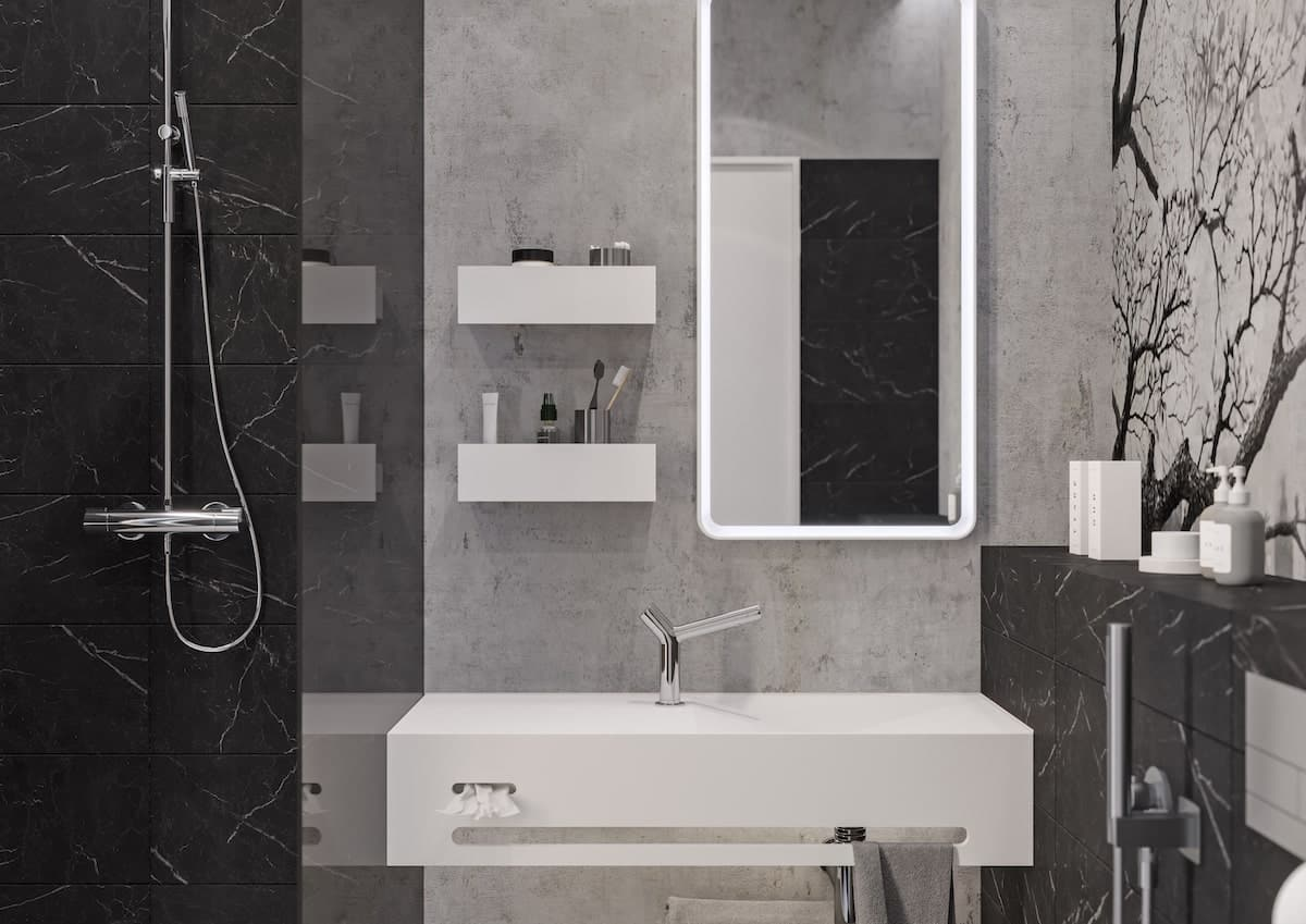 Eumar captures accolades for its stylish and modern Split bathroom series
