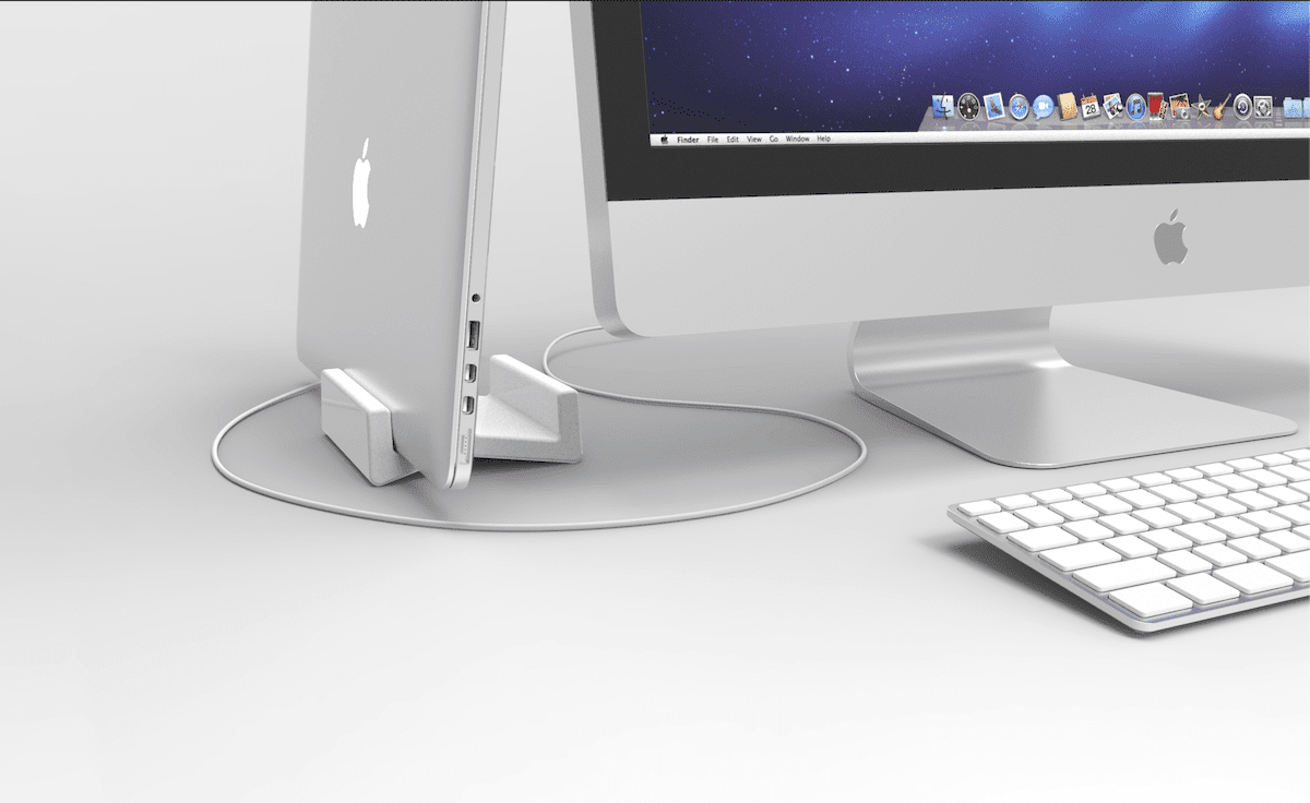 Introducing the CreaCore solid surface laptop holder