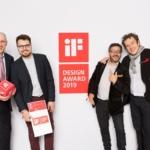 Eumar wins iF Design Award for Ergomedic Washbasin
