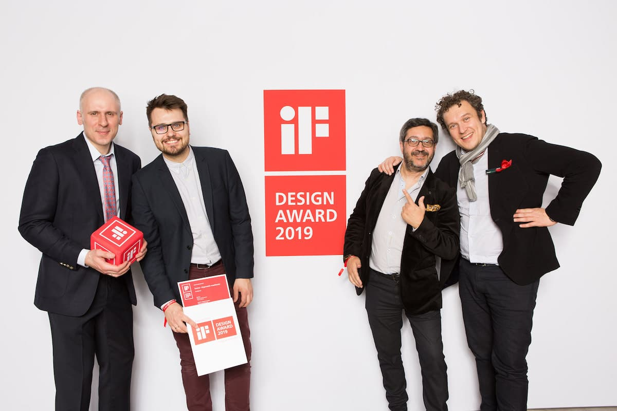Eumar wins iF Design Award for Ergomedic Washbasin