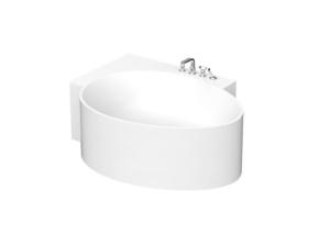 Ovo bathtub 163l corner