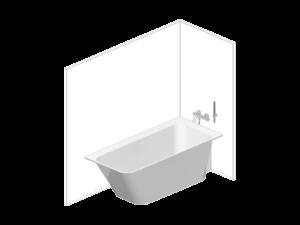 madeira bathtub corner, right